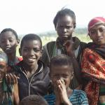 Children in Ethiopia's Borana region