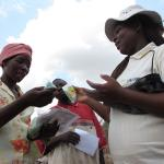 seed distribution in Mozambique